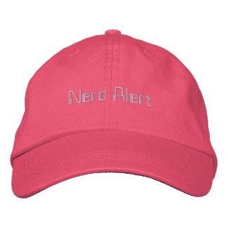 Gorra alerta del empollón gorra de beisbol
