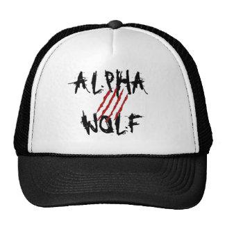 Gorra alfa del camionero de la garra del lobo