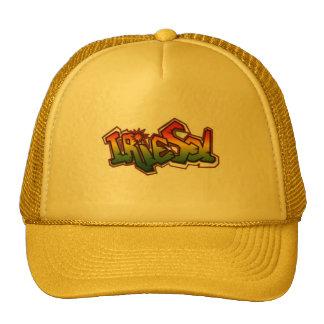 Gorra amarillo del camionero del solenoide de Irie
