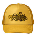 Gorra amarillo del logotipo del Poe SID