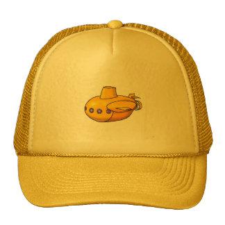 Gorra amarillo del submarino el |