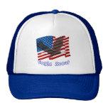 Gorra americano de Eagle calvo
