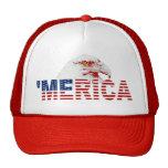 'Gorra americano de la bandera de MERICA Eagle cal