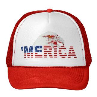 'Gorra americano de la bandera de MERICA Eagle Gorra