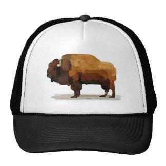 Gorra americano del camionero del búfalo (bisonte)