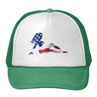 Gorra americano del chica