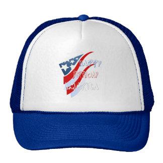 Gorra americano del cumpleaños