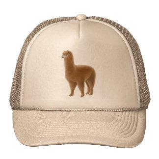 Gorra amistoso de la alpaca de Brown