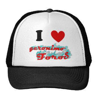 Gorra: Amo Geronimo Foros Trucker Hat