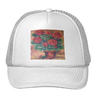 Gorra Ana Hayes que pinta belleza roja