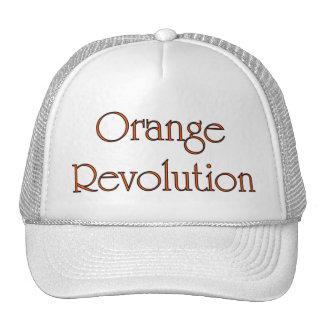 Gorra anaranjado 1 de la revolución