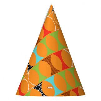 Gorra anaranjado moderno del fiesta del modelo de gorro de fiesta