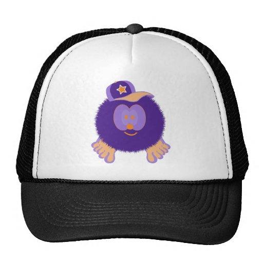 Gorra anaranjado púrpura de la gorra de béisbol