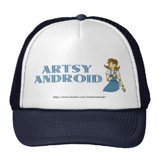 Gorra androide artsy