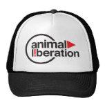 Gorra animal de la liberación