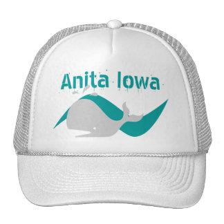 ¡Gorra Anita Iowa del recuerdo una ballena de una Gorras