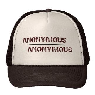 Gorra anónimo