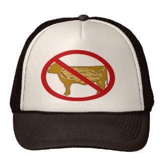 Gorra anti del camionero de la carne de vaca
