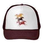 Gorra antiguo de tres caballos