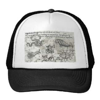 Gorra antiguo del Cryptozoology