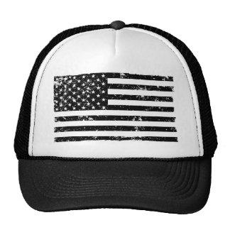 Gorra apenado del camionero de la bandera american