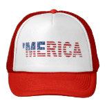 'Gorra apenado MERICA de la bandera de los E.E.U.U