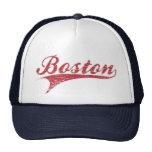 Gorra apenado vintage del estadio de béisbol de