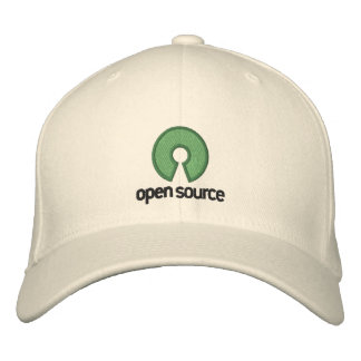 Gorra apto de la flexión de Open Source Gorra De Béisbol Bordada