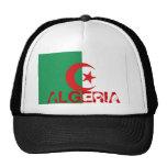 Gorra argelino del recuerdo de la malla del camion