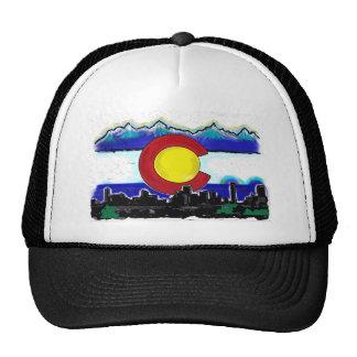 Gorra artístico del deco del horizonte de Denver d