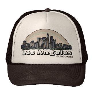 Gorra artístico del horizonte de Los Ángeles Calif