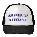Gorra ateo americano del camionero