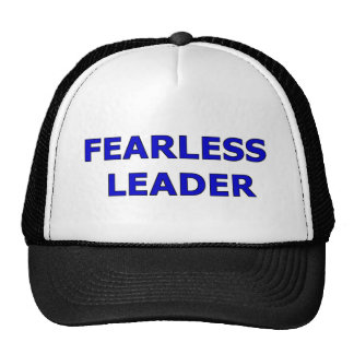 Gorra audaz del líder