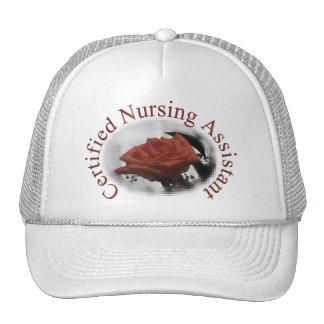 Gorra auxiliar de cuidado certificado