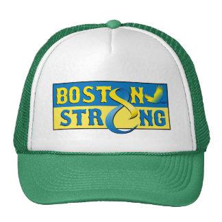 Gorra azul de Boston y amarillo fuerte de la cinta