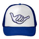 Gorra azul de Hawaii del shaka
