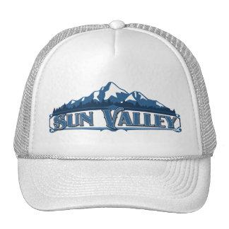 Gorra azul de la montaña de Sun Valley