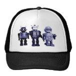 gorra azul de los robots