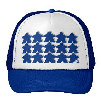 Gorra azul de Meeple