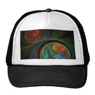 Gorra azul del arte abstracto del renacimiento