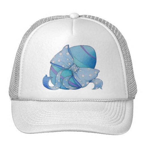 Gorra azul del huevo