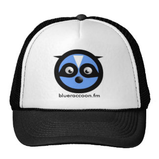 gorra azul del mapache