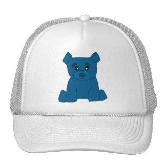 Gorra azul del oso
