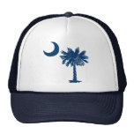 Gorra azul del Palmetto