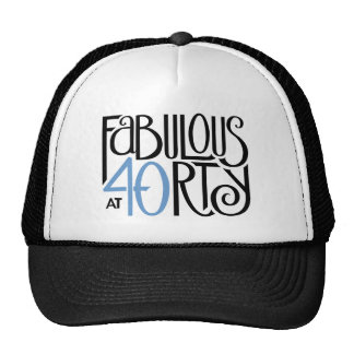Gorra azul negro 40 fabulosos