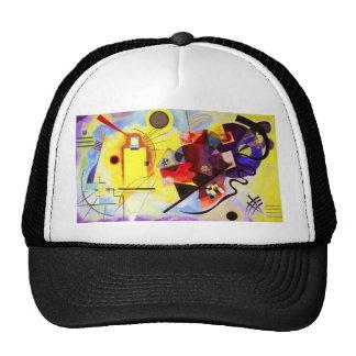 Gorra azul rojo amarillo de Kandinsky