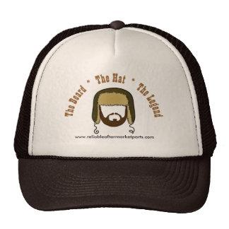 Gorra barba gorra leyenda del camionero de Bi