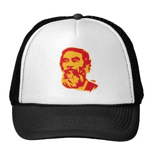 Gorra barbudo del retrato de Saddam Hussein