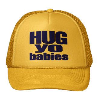 Gorra bebés de Yo del abrazo de los molinos de Do