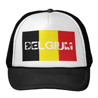 Gorra belga del recuerdo de la bandera de Bélgica